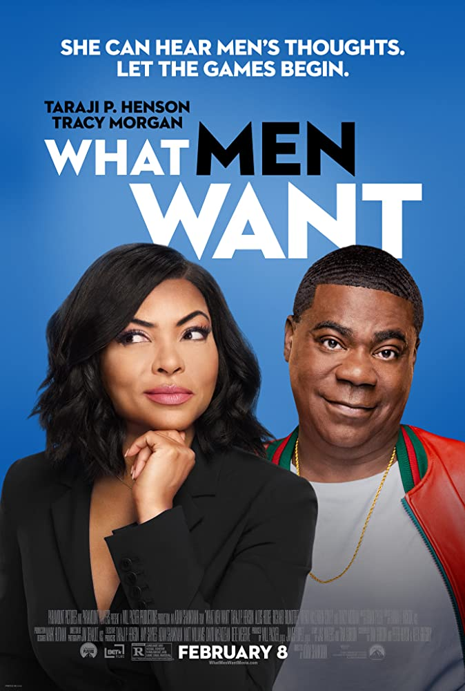 Taraji P. Henson and Tracy Morgan in What Men Want (2019)