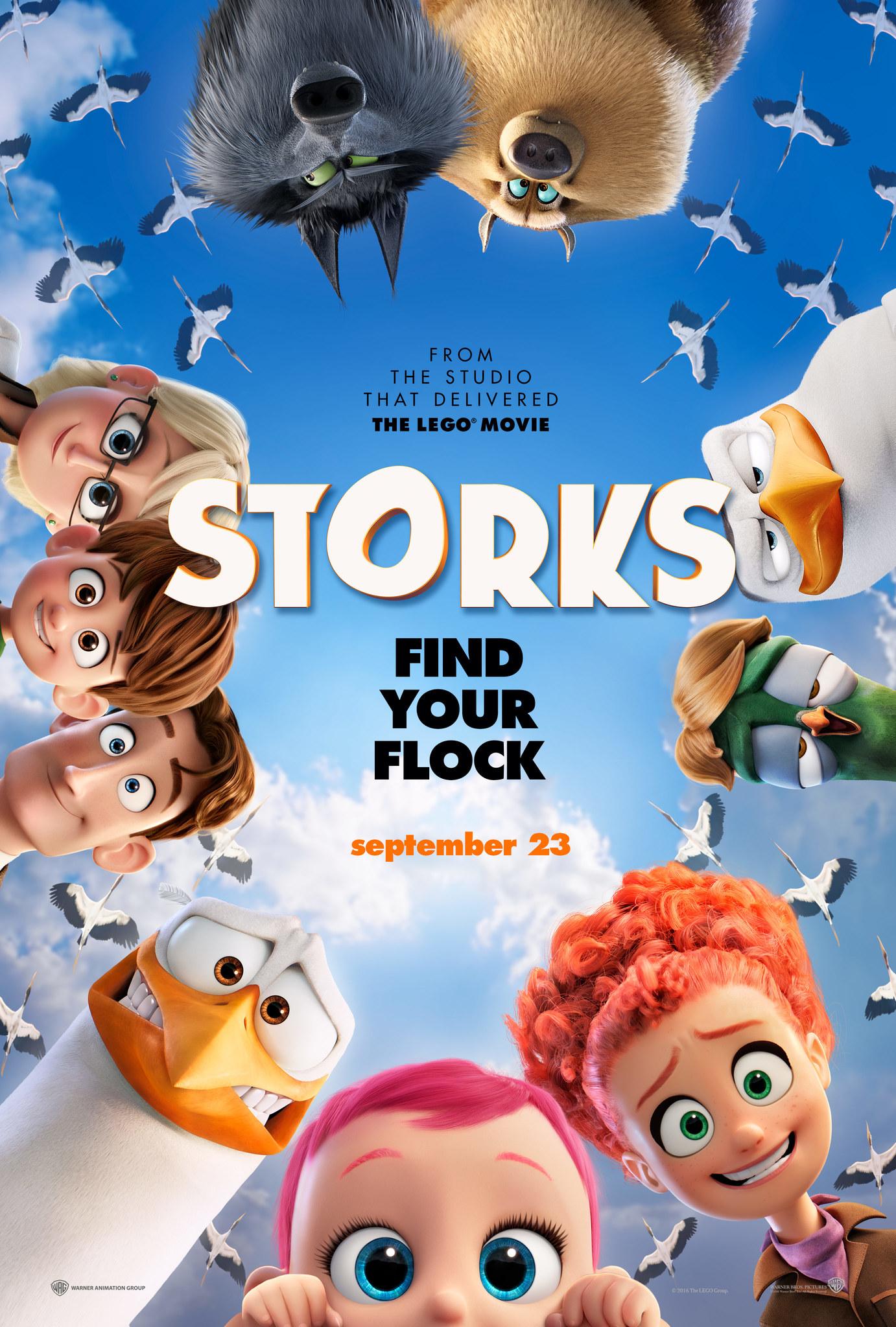 Storks (2016) BluRay 720p, 1080p & 4K-2160p
