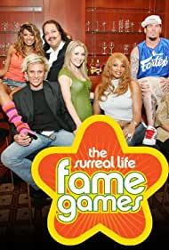 Ron Jeremy, Traci Bingham, Pepa, Vanilla Ice, Chyna, Emmanuel Lewis, Verne Troyer, C.C. DeVille, and Andrea Lowell in The Surreal Life: Fame Games (2007)