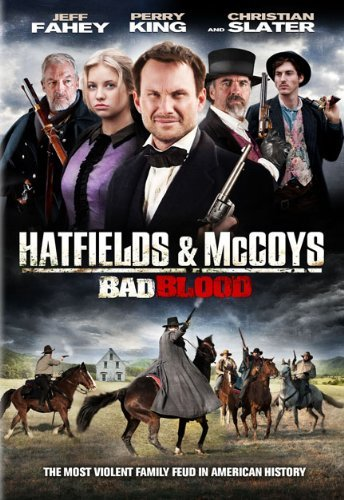 Christian Slater, Jeff Fahey, Sean Flynn, Perry King, and Kassandra Clementi in Hatfields and McCoys: Bad Blood (2012)