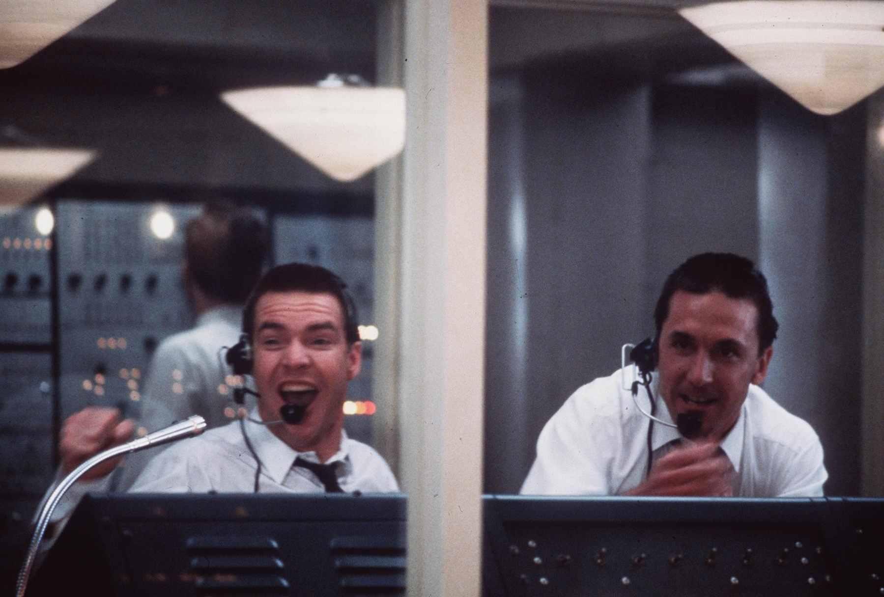 Dennis Quaid and Scott Paulin in The Right Stuff (1983)