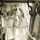 Deborah Kerr, Judith Furse, Jenny Laird, and Flora Robson in Black Narcissus (1947)
