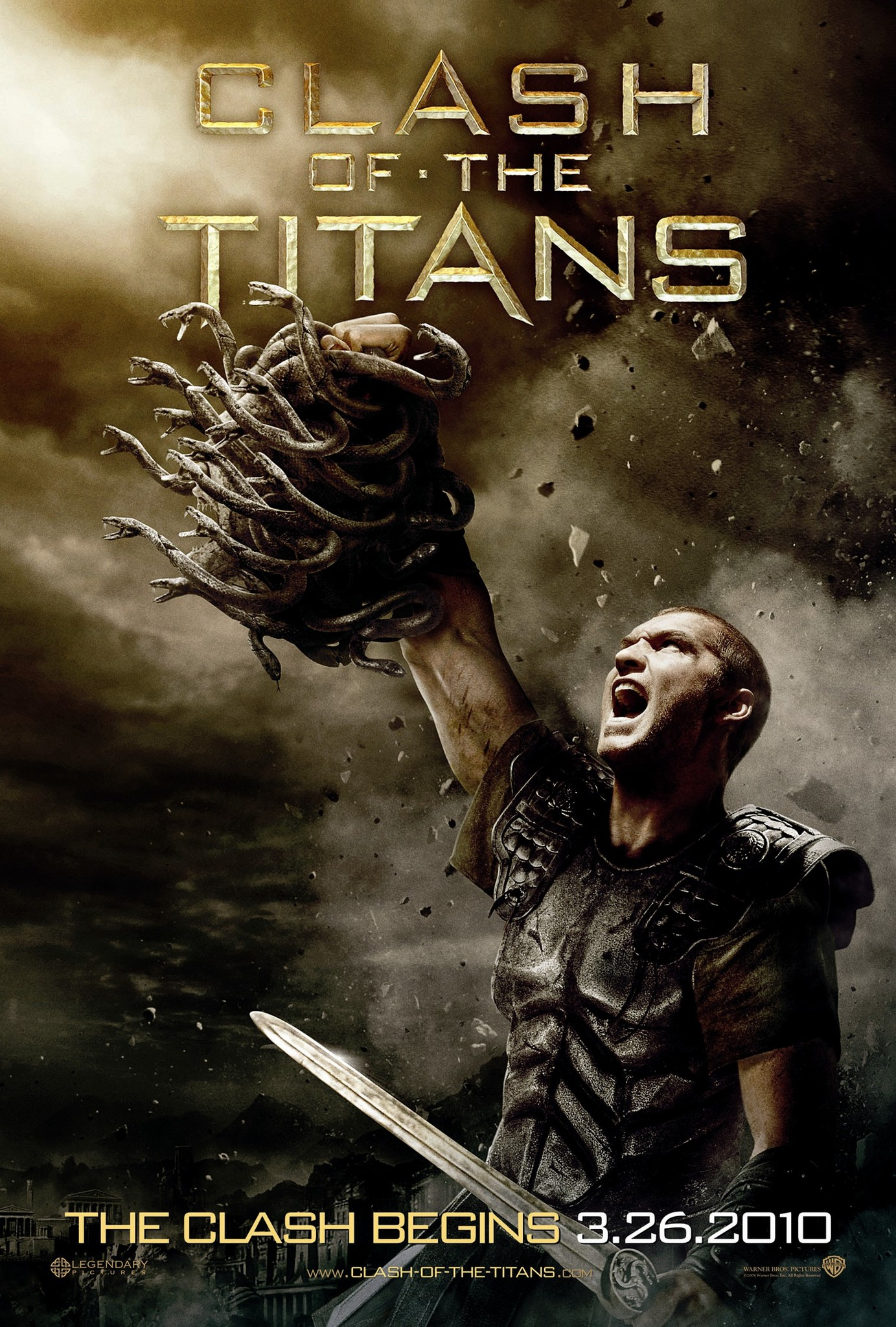 Image result for clash of the titans movie poster