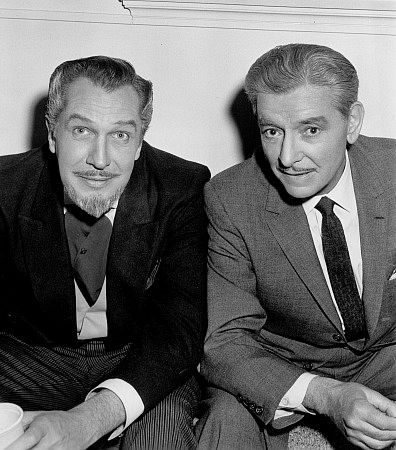 """""""The Story Of Mankind,"""" Ronald Colman and Vincent Price. 1957 Warner Bros."""