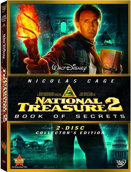 National Treasure Book Of Secrets 2007