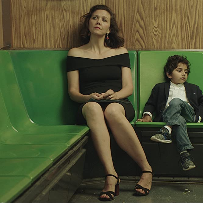 Maggie Gyllenhaal and Parker Sevak in The Kindergarten Teacher (2018)