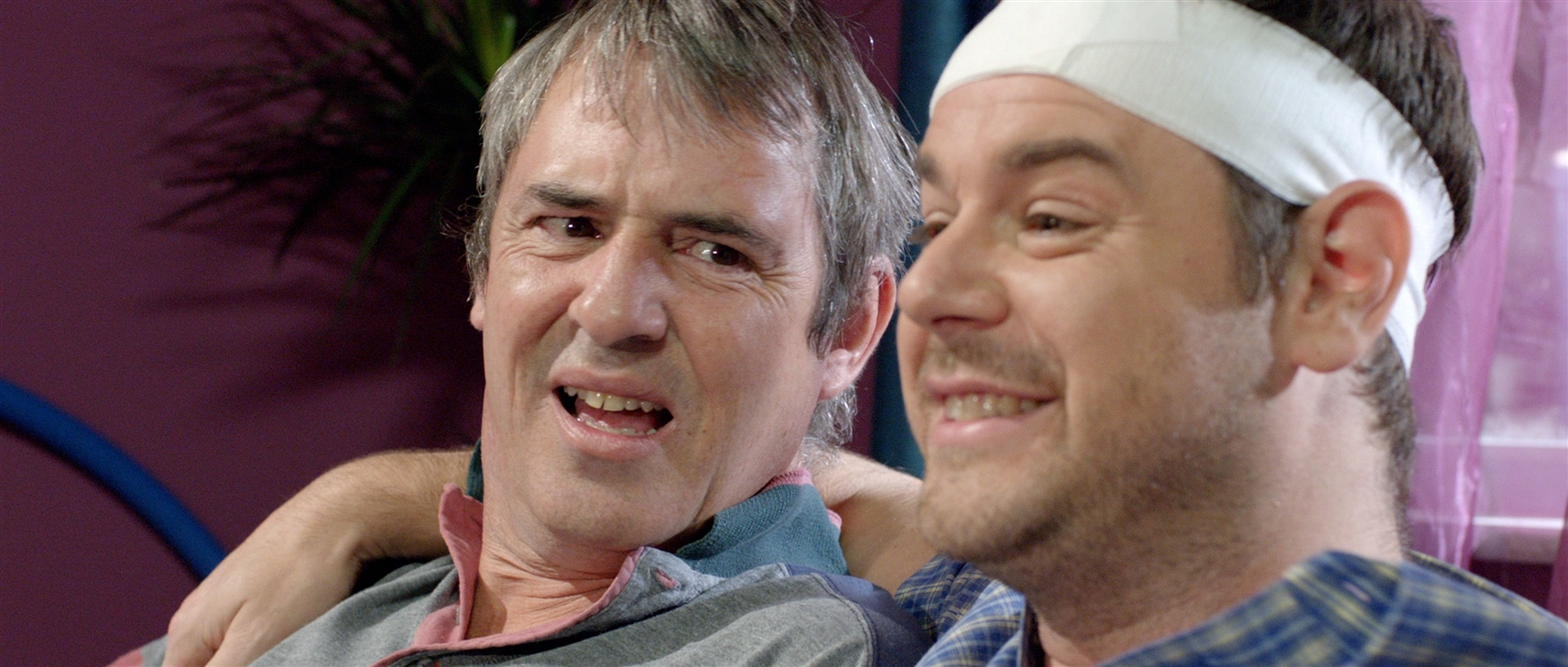 Danny Dyer and Neil Morrissey in Run for Your Wife (2012)