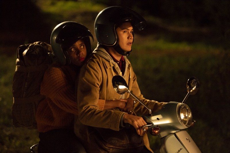 Janicza Bravo and Rene Gube in Camping (2018)