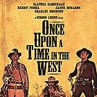 Henry Fonda, Charles Bronson, Claudia Cardinale, and Jason Robards in C'era una volta il West (1968)