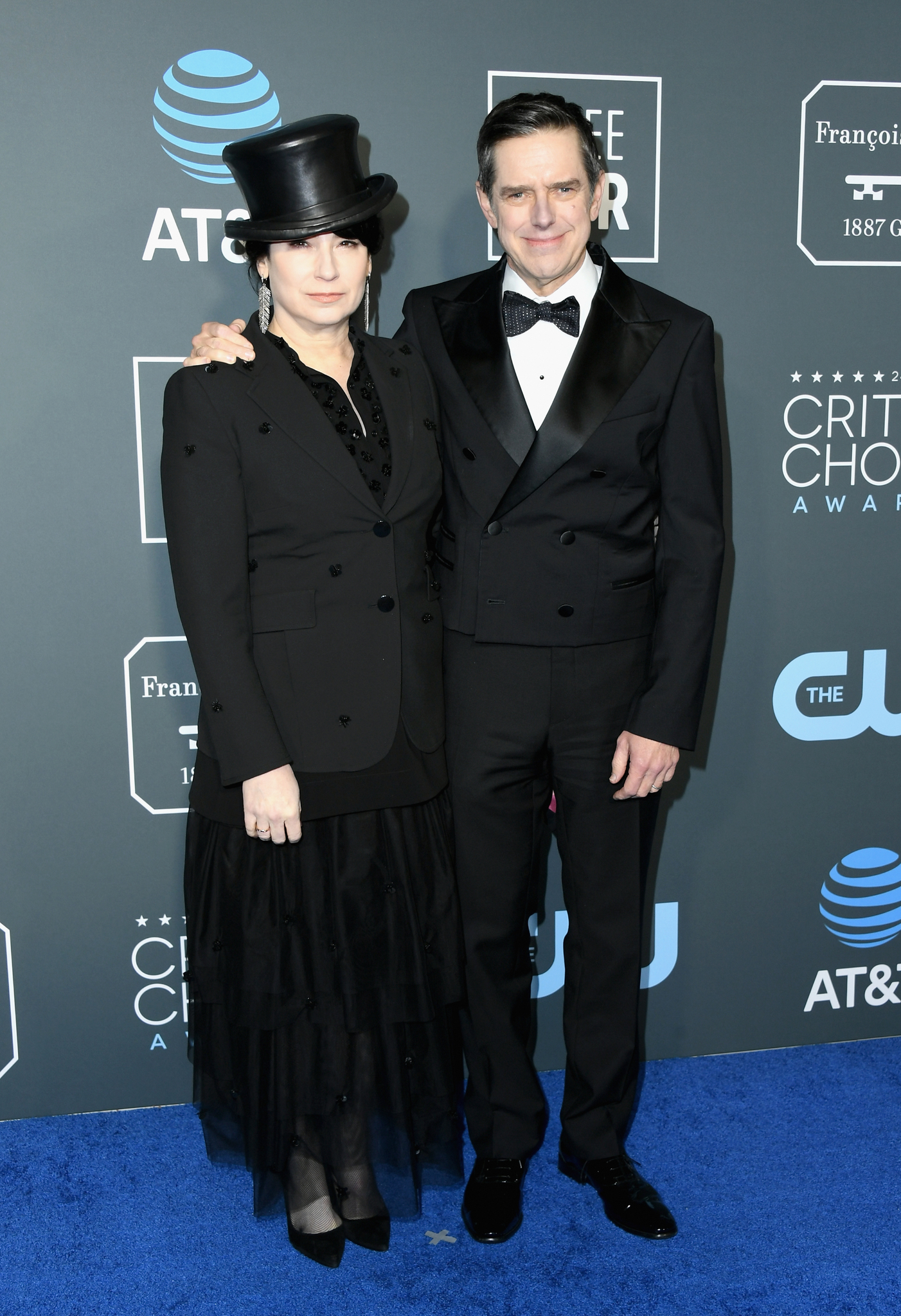 Daniel Palladino and Amy Sherman-Palladino at an event for The 24th Annual Critics' Choice Awards (2019)