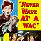Paul Douglas, Rosalind Russell, and Marie Wilson in Never Wave at a WAC (1953)