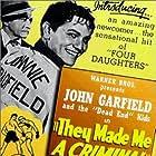 Claude Rains, John Garfield, and Ann Sheridan in They Made Me a Criminal (1939)
