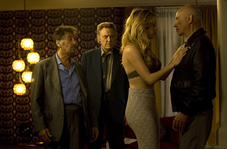 Al Pacino, Alan Arkin, Christopher Walken, and Katheryn Winnick in Stand Up Guys (2012)