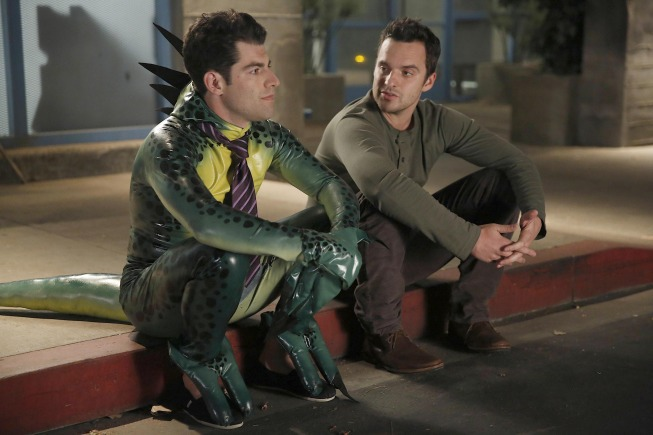 Max Greenfield and Jake Johnson in New Girl (2011)