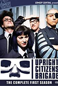 Matt Besser, Amy Poehler, Ian Roberts, and Matt Walsh in Upright Citizens Brigade (1998)