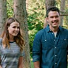 Ryan Paevey and Jocelyn Hudon in From Friend to Fiancé (2019)