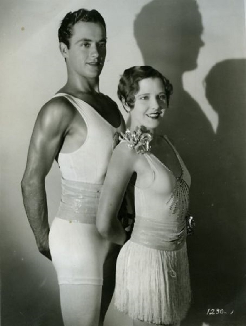 Jean Arthur and Charles 'Buddy' Rogers in Half Way to Heaven (1929)