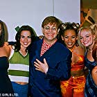 The girls with Elton John