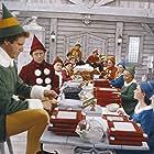 Will Ferrell, Kristian Ayre, Peter Billingsley, Meghan Black, David Avalon, Patrick Baynham, Graeme Duffy, and Reginald Colin Rowley in Elf (2003)