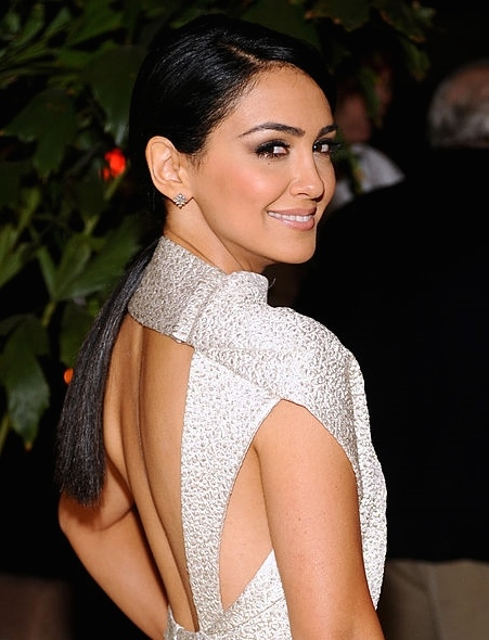Nazanin Boniadi at Elle Women in Television event