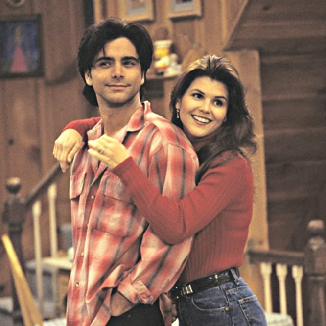 John Stamos and Lori Loughlin in Full House (1987)