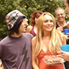 Lindsay Lohan and Aaron Yoo in Labor Pains (2009)