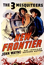 New Frontier (1939) Poster - Movie Forum, Cast, Reviews