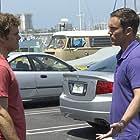 Desmond Harrington and Michael C. Hall in Dexter (2006)