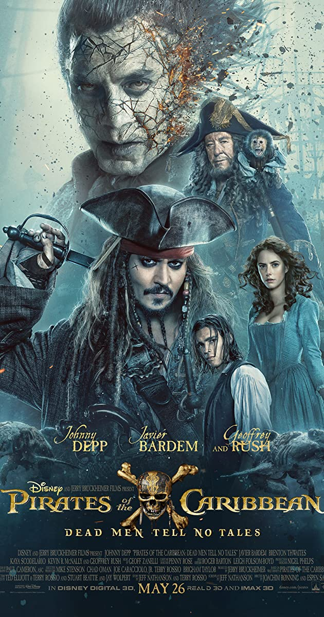 Pirates Of The Caribbean Dead Men Tell No Tales (2017) [YTS.AG]