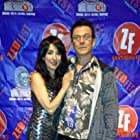 """Luciana Lagana and star/producer Edward Parker Bolman at the premiere of the multiple award-winning feature film """"Omadox"""" at Zed Fest Film Festival in Burbank, CA on 12/14/14."""