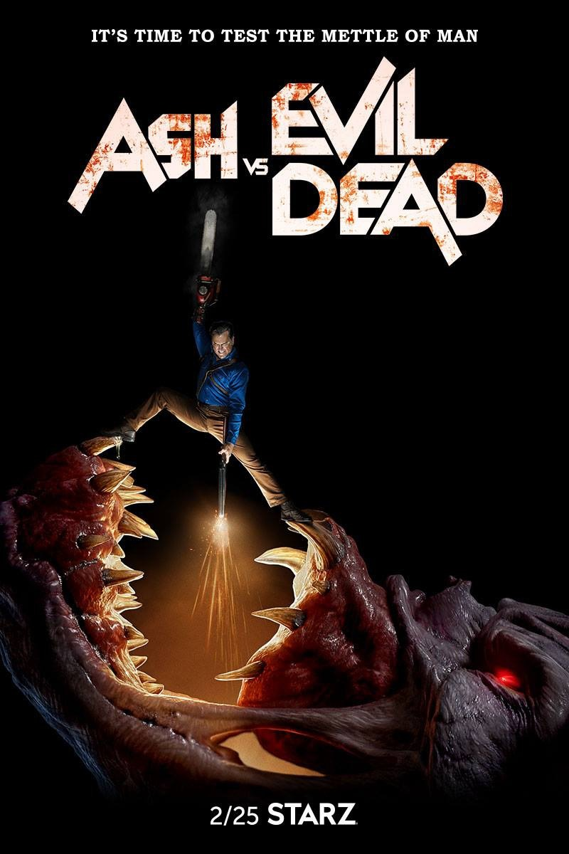 Ash Vs Evil Dead Tv Series 2015 2018 Imdb