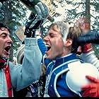 Patrick Houser and David Naughton in Hot Dog ...The Movie (1983)