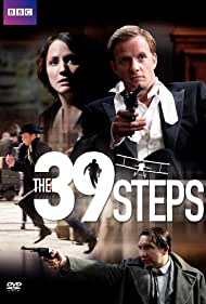 Eddie Marsan, Rupert Penry-Jones, and Lydia Leonard in The 39 Steps (2008)