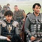 Hugh Dancy, Ioan Gruffudd, Mads Mikkelsen, Clive Owen, Ray Stevenson, and Ray Winstone in King Arthur (2004)
