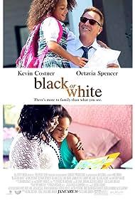 Kevin Costner, Octavia Spencer, and Jillian Estell in Black or White (2014)
