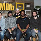 Kevin Smith, Craig Robinson, Jemaine Clement, Matt Berry, Jim Hosking, and Aubrey Plaza at an event for An Evening with Beverly Luff Linn (2018)