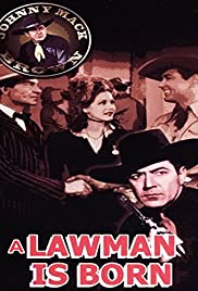 A Lawman Is Born Poster