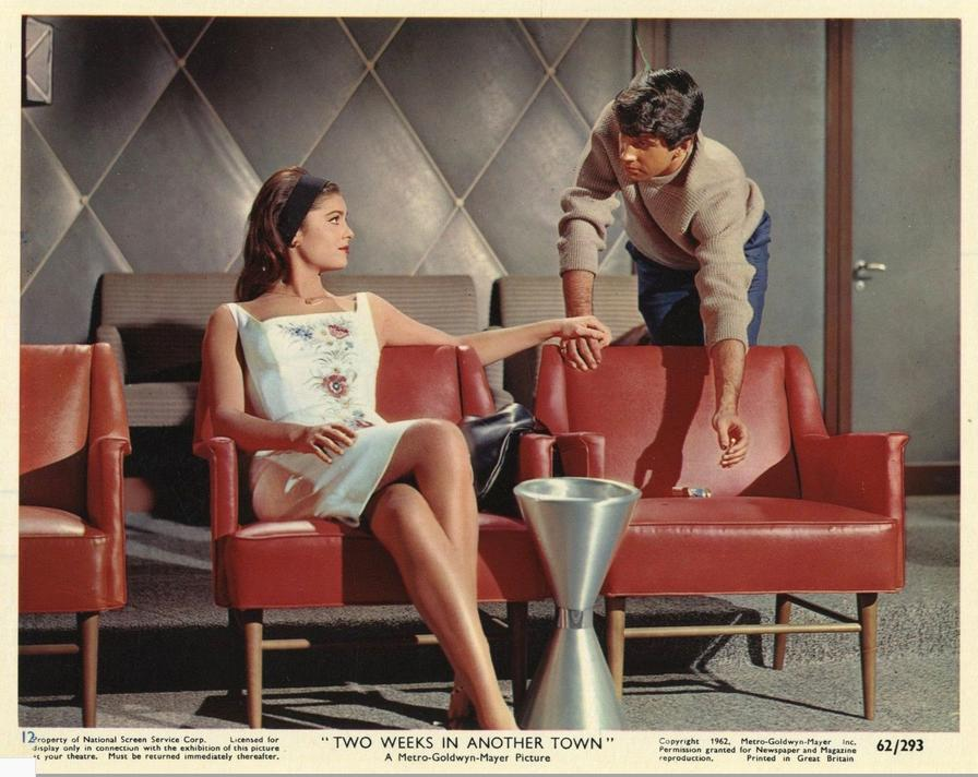 George Hamilton and Daliah Lavi in Two Weeks in Another Town (1962)
