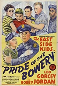 Mary Ainslee, David Gorcey, Leo Gorcey, Kenneth Harlan, Kenneth Howell, Ernest Morrison, and Bobby Jordan in Pride of the Bowery (1940)