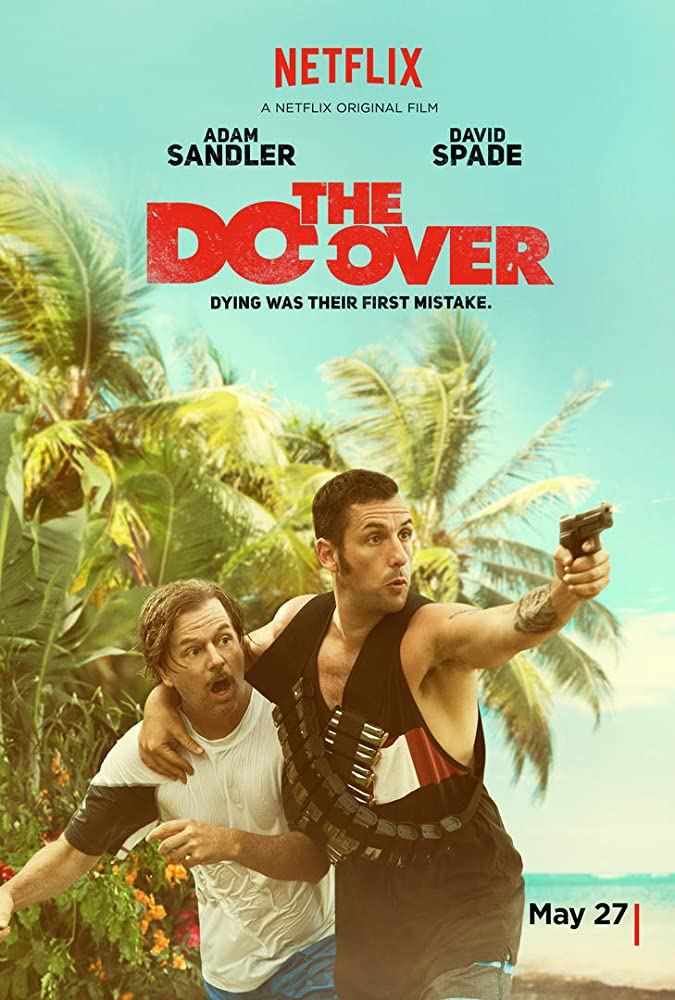 Adam Sandler and David Spade in The Do-Over (2016)