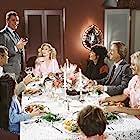 Larry Hagman, Donna Mills, Joan Van Ark, Tonya Crowe, Robert Jayne, Michele Lee, Don Murray, and Ted Shackelford in Knots Landing (1979)
