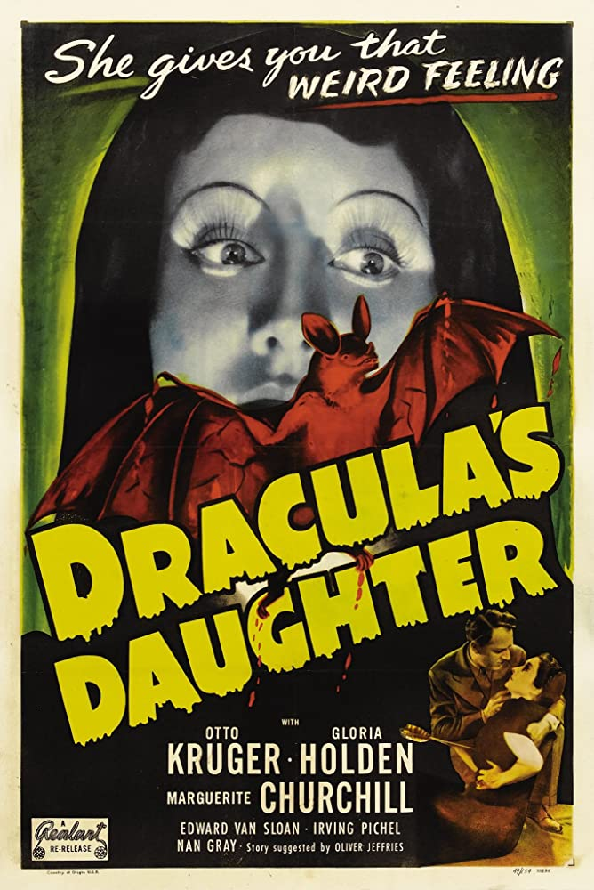 Gloria Holden and Otto Kruger in Dracula's Daughter (1936)
