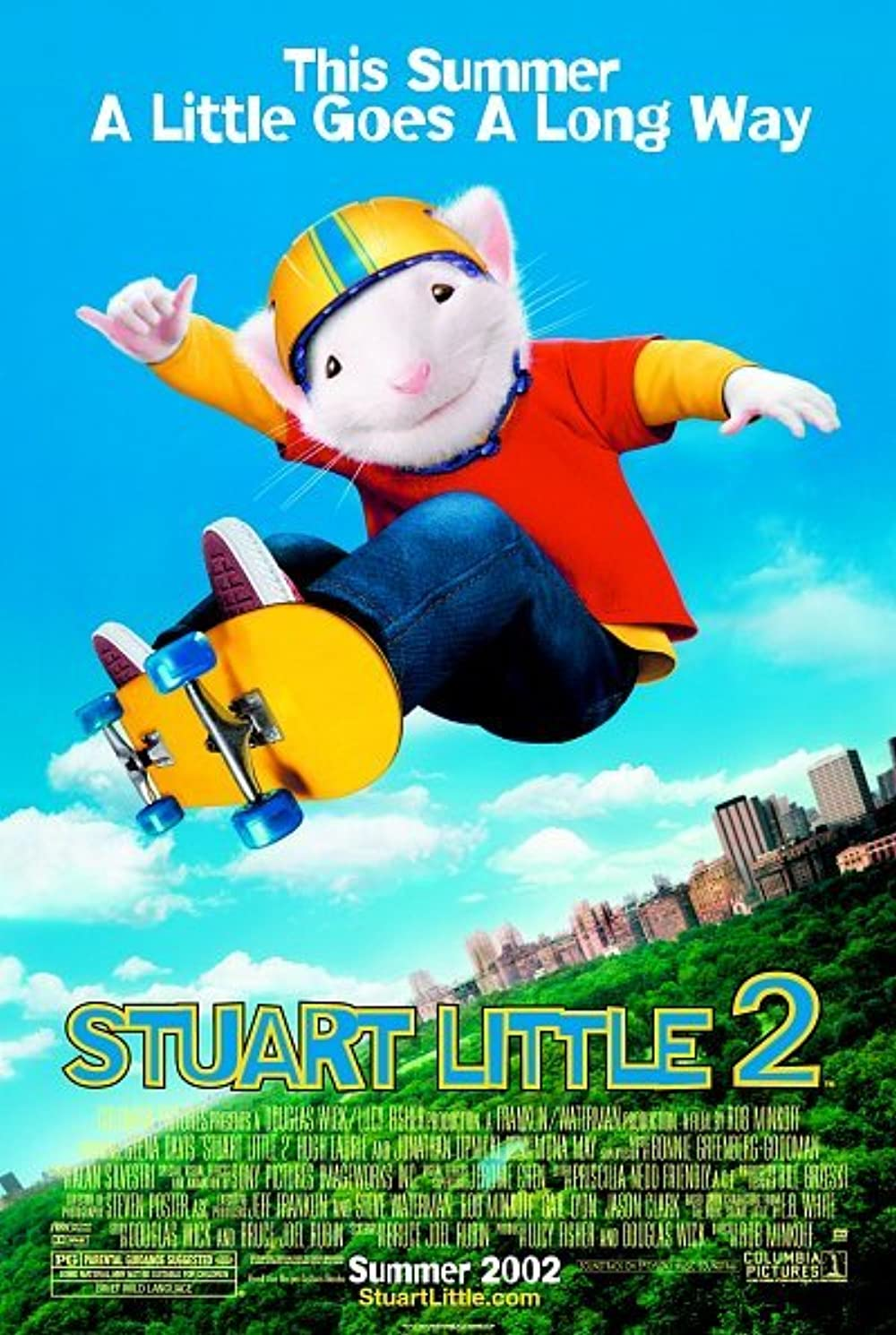 Stuart Little 2 2002 Hindi Dual Audio 275MB BluRay Download