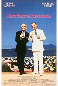 Steve Martin and Michael Caine in Dirty Rotten Scoundrels (1988)