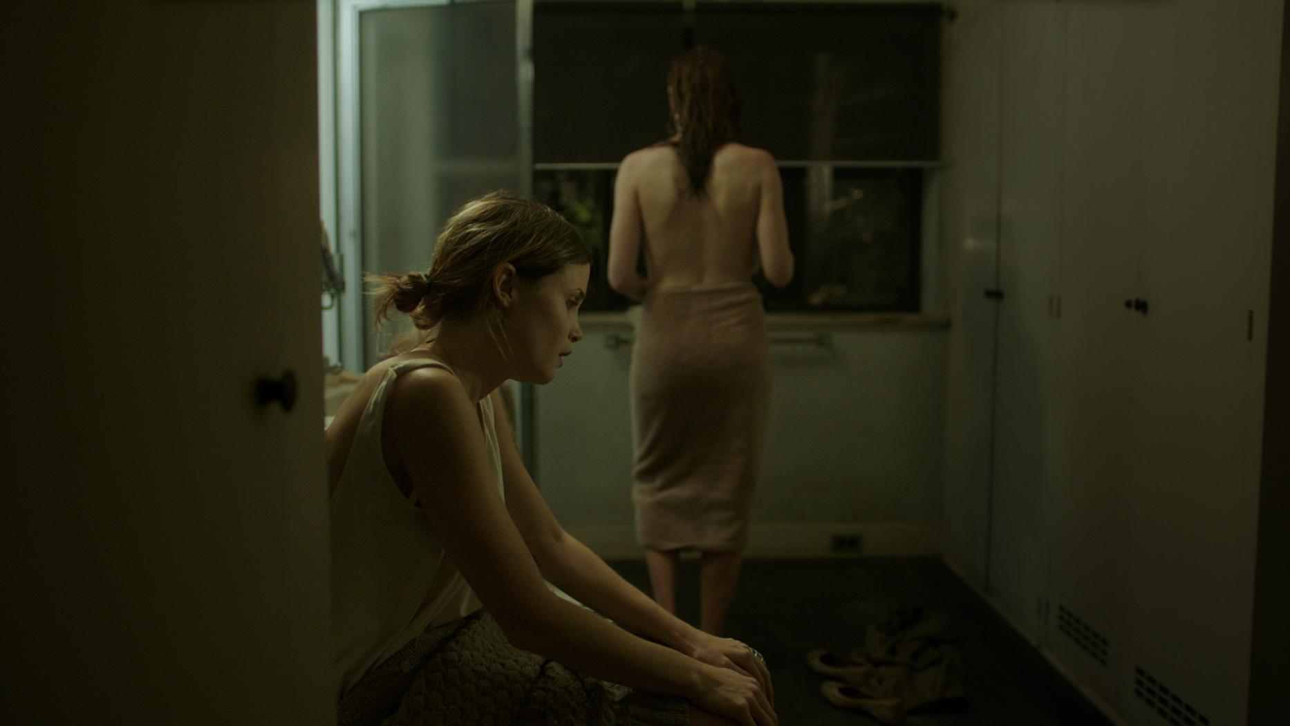 Gitte Witt and Stephanie Ellis in The Sleepwalker (2014)