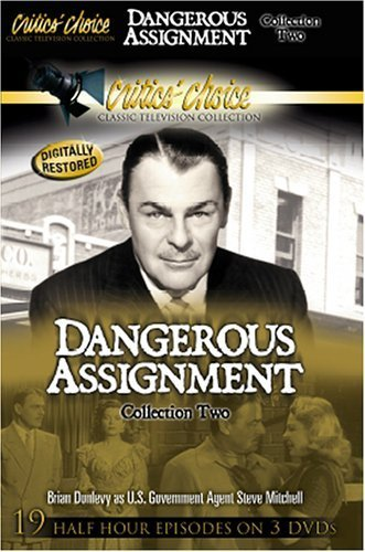 Brian Donlevy in Dangerous Assignment (1952)