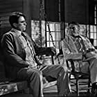 Gregory Peck and Paul Fix in To Kill a Mockingbird (1962)