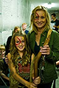 THE TRIBE(2011) Christine is posing with Willow Hale.  Christine plays her character as a young woman. Filmed in 2010.