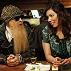 Michaela Conlin and Billy Gibbons in Bones (2005)
