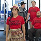 Mark McKinney, America Ferrera, Colton Dunn, and Nico Santos in Superstore (2015)